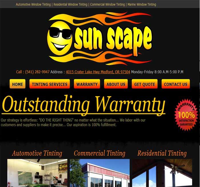 Sun Scape Window Tinting